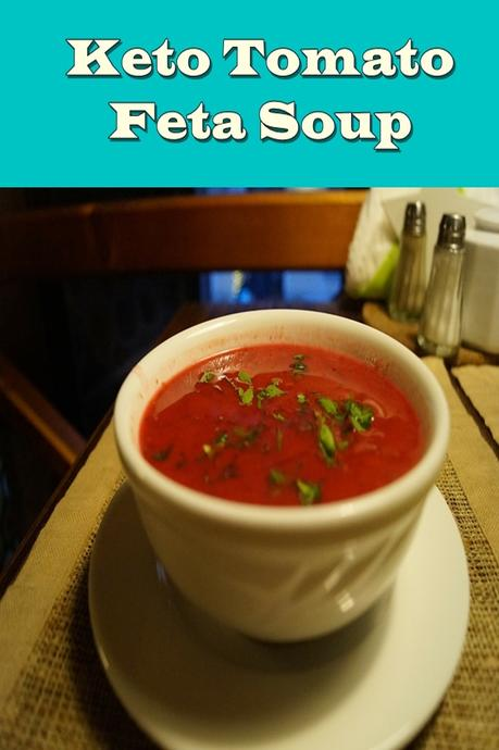 Keto Tomato Feta Soup