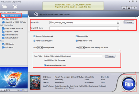 9 DVD Backup Modes – Use WinX DVD Copy Pro to Backup DVD for Free