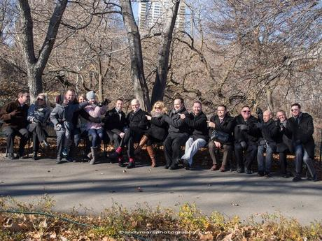 Chris and John's December Wedding Underneath Bethesda Terrace