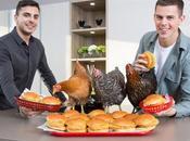 "Vegan ""Chicken"" Burgers with Kardashi-hens"