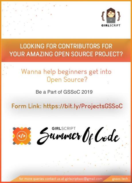 GirlScript Summer of Code 2019