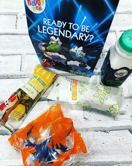 McDonald's UK First Vegetarian Happy Meal Wrap #Ad