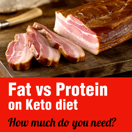 Fat vs protein on Keto