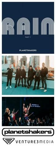 Planetshakers, Rain Part 1, releasing Jan. 18