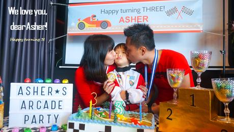 It's an ARCADE party - Asher turns 3!