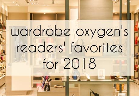 8db33b8659f Wardrobe Oxygen Readers  Favorites from 2018 - Paperblog