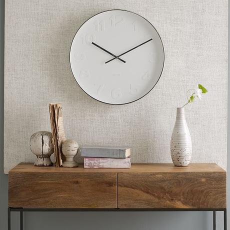 Add minimalist appeal to your interiors with Just For Clocks