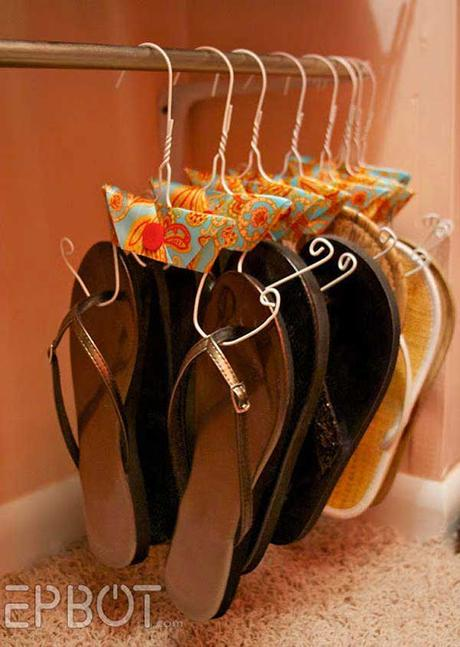 DIY shoe storage: Crazy Shoe Storage Ideas