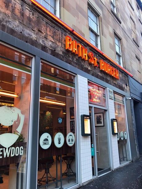 Food review: vegan goodies at Bath St. Burger