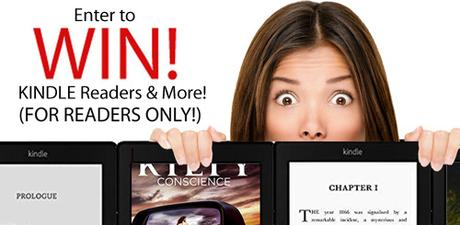 Win a Kindle, Poltergeists and Book Deals…