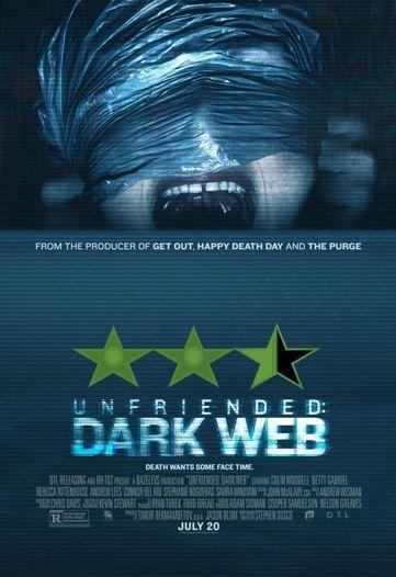 ABC Film Challenge – Best of 2018 – U – Unfriended: Dark Web (2018)