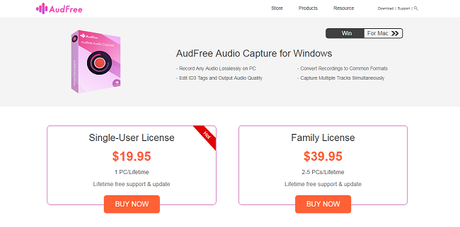 AudFree Audio Capture for Windows Review: Easily Capture Any Music