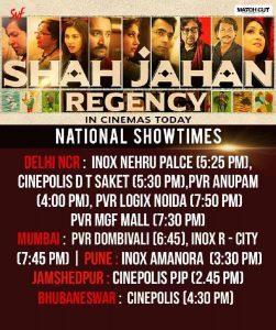 Srijit Mukherji's 'Shah Jahan Regency', Receiving Rave Reviews From Across The Country!