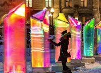 Winter Lights at Canary Wharf until Saturday