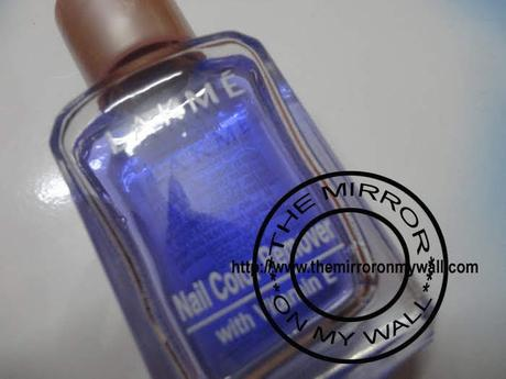 Lakme Nail Color Remover Review
