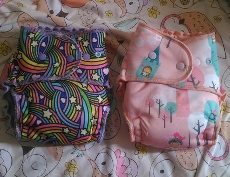 Cottonytail Zonkeys in Rainbow Twist and Rapunzel Prints