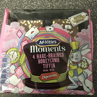 Today's Review: McVitie's Moments Honeycomb Tiffin