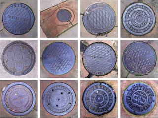 Primrose Hill coal hole cover plates