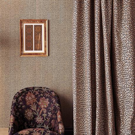 'Wild Card' Leopard Print Fabric by House of Hackney