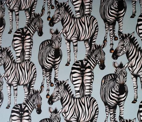 Zebra Fabric by Charlotte Jade