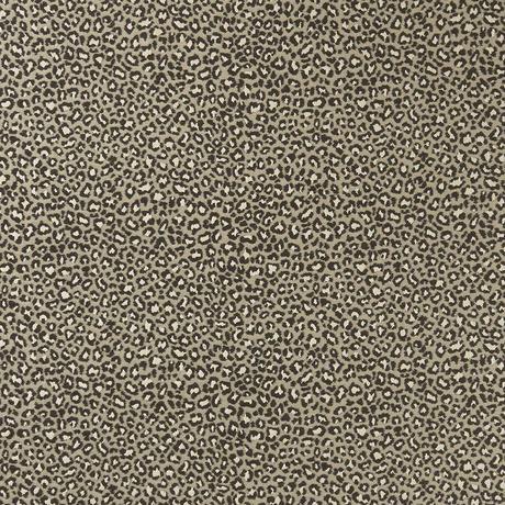Beautiful leopard print fabric - Ocelot Noir by Clarke & Clarke