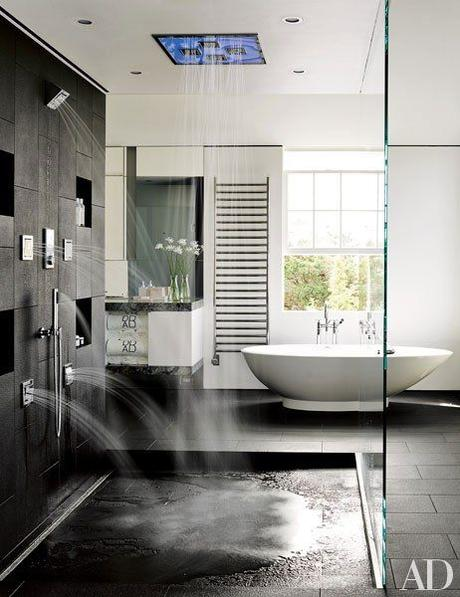walk in showers luxury shower with multiple sprayers