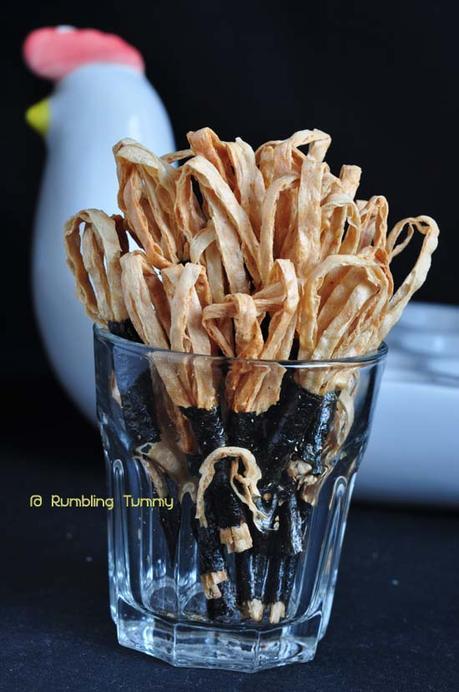 Crispy Cod fish seaweed chip 鳕鱼海苔脆