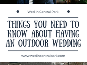 Things Need Know About Having Wedding Outdoors