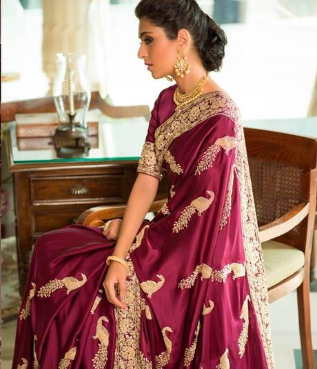 Most Trending Designer Saree 2019