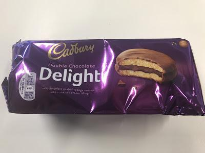 Today's Review: Cadbury Double Chocolate Delight