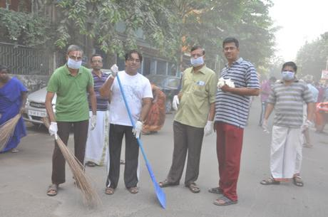 Swachh Bharat .. ..National Cleaning day initiative in Sierra Leone