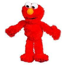 Image: Sesame Street Plush Elmo, 9 Inch, by Playskool