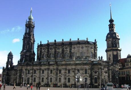 best places to visit in germany, church in dresden