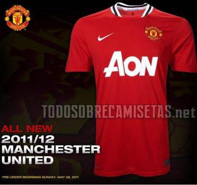 2011/2012 Leaked Manchester United Kit