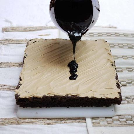 Coffee Cream Brownies