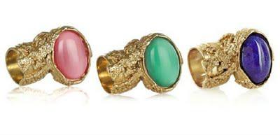 the finger blinger: YSL Arty Ring