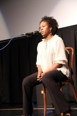 "Tanya Wright at World Premiere of ""Butterfly Rising"""