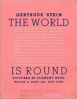 GERTRUDE STEIN: THE WORLD IS ROUND