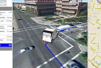 Google Earth Driving Simulator - Paperblog
