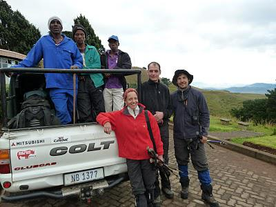 The Grand Traverse of the Drakensberg - April 2011