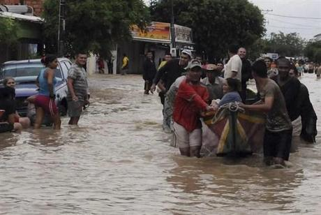 Colombia endures record-level rainfall