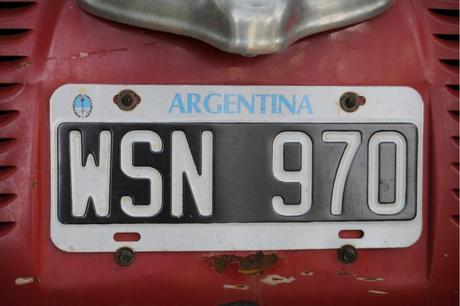 travel bug: argentina.
