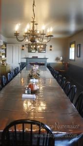 Homestead Buttery and Bakery in Remington, Indiana: Banquet Room