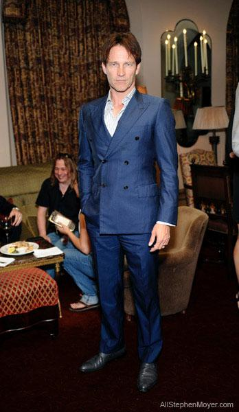 Stephen Moyer attends the Mr. Porter and Simon Spurr dinner
