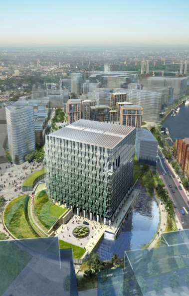 New US Embassy at Nine Elms