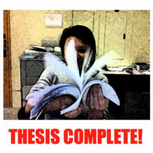 Thesis hangover: a post for posterity