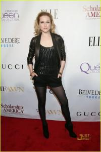 True Blood's Evan Rachel Wood at Mary J. Blige Honors Concert