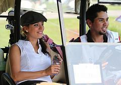 Ellie Day and Jason Day