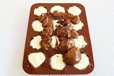 Molded Chocolate Cheesecake