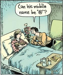 Mad About Middle Names